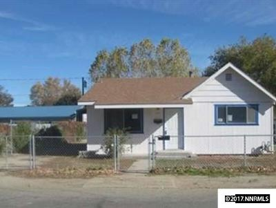 Yerington NV Single Family Home For Sale: $69,000