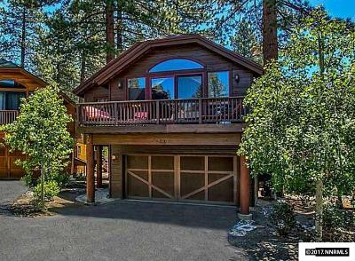 Incline Village Single Family Home Active/Pending-Call: 844 Rosewood Cir #11