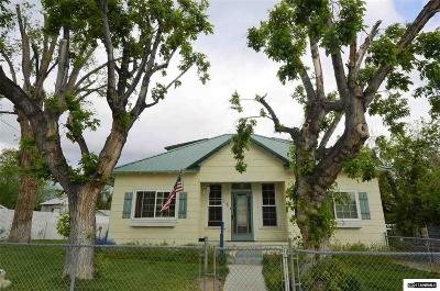 Winnemucca Single Family Home Active/Pending-Loan: 428 W Sixth St