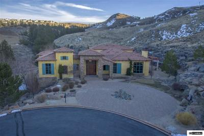 Reno Single Family Home For Sale: 60 Lonepine Ct