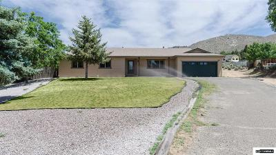 Carson City County Single Family Home Active/Pending-Loan: 5369 Ethel Way