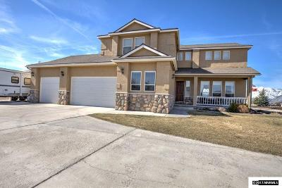 Gardnerville Single Family Home For Sale: 1134 Ladera