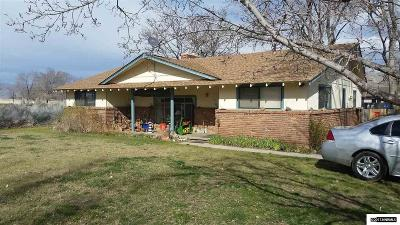 Carson City Single Family Home For Sale: 5307 Center
