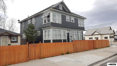 Sparks Multi Family Home For Sale: 345 9th Street