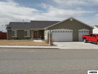 Winnemucca Single Family Home Active/Pending-Call: 2856 Great Basin Ave.