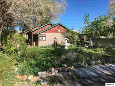 Yerington Single Family Home For Sale: 15 S West Street