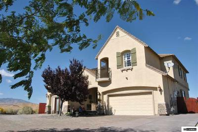 Sparks Single Family Home For Sale: 1515 Cantinia Drive