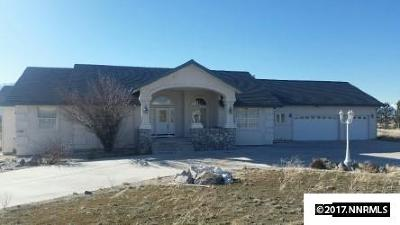 Gardnerville Single Family Home Active/Pending-Short Sale: 1760 Merino Circle