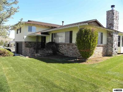 Carson City Single Family Home Active/Pending-Loan: 3633 Shawnee