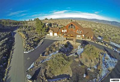 Reno Single Family Home Active/Pending-Loan: 15030 N Timberline
