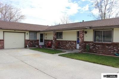 Carson City County Multi Family Home Active/Pending-Loan: 728/730 Sean Drive