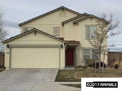 Washoe County Single Family Home Active/Pending-Short Sale: 9132 Gilvarry St