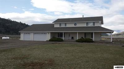Gardnerville Single Family Home For Sale: 550 Old Toll Road