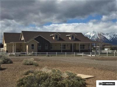 Gardnerville Single Family Home Active/Pending-Call: 1666 S Benton