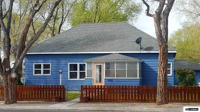 Battle Mountain Single Family Home For Sale: 290 W 2nd Street