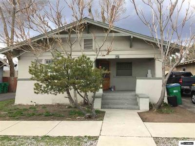 Sparks Multi Family Home For Sale: 529 12th Street