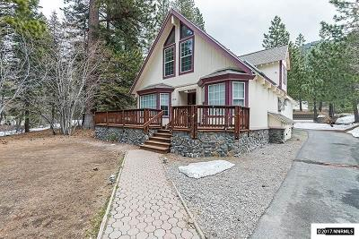 Incline Village Single Family Home Active/Pending-Short Sale: 194 Tramway