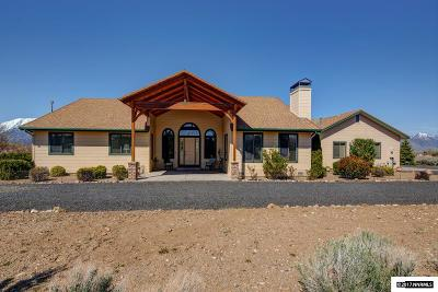 Gardnerville Single Family Home Active/Pending-Call: 1474 Sanchez Road