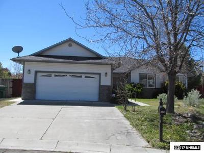Carson City Single Family Home For Sale: 2022 Clover Ct