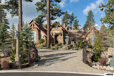 Reno Single Family Home For Sale: 6825 De Chardin Lane