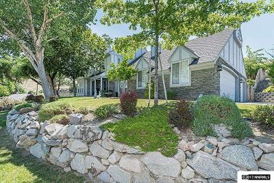 Carson City Single Family Home Active/Pending-Loan: 10 Canyon Drive