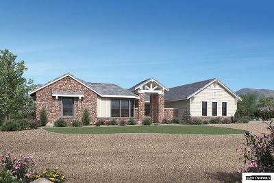 Single Family Home Active/Pending-Loan: 1670 Boulder Ridge Court #LOT #207