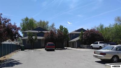 Reno Multi Family Home For Sale: 542 Capitol Hill