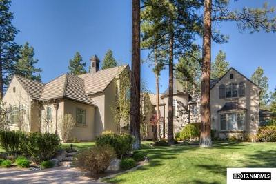 Reno Single Family Home For Sale: 5865 Lausanne