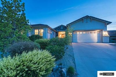 Washoe County Single Family Home Active/Pending-Call: 613 Rabbit Ridge Court