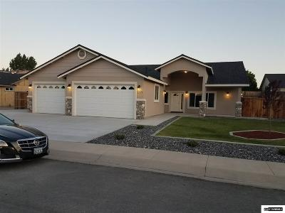 Fernley Single Family Home For Sale: 1717 Bunker Ct