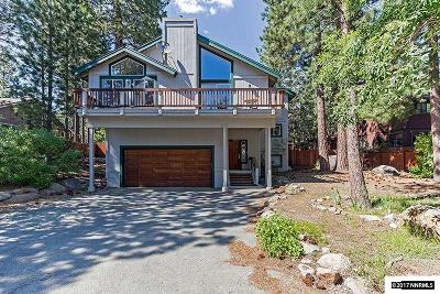 Incline Village Single Family Home For Sale: 828 Robin Dr.