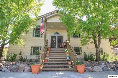 Washoe County Single Family Home For Sale: 3460 Mario Rd.