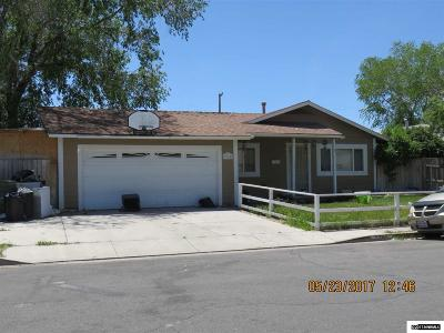 Carson City Single Family Home Active/Pending-Short Sale: 1365 Willard Ln.