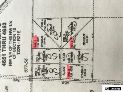 Reno NV Residential Lots & Land Back On Market: $50,000