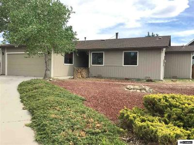 Gardnerville Single Family Home Active/Pending-Loan: 1455 Mary Jo Dr