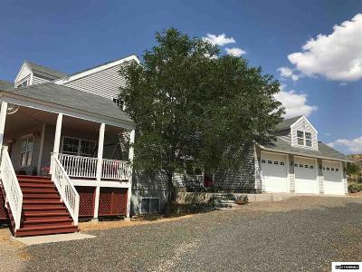 Carson City Single Family Home Active/Pending-Loan: 5960 Mallow Road