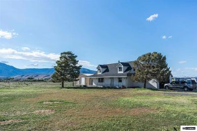 Minden Single Family Home Active/Pending-House: 2745 Billy's Road
