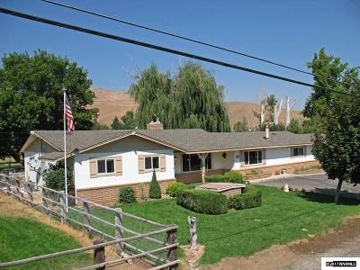 Reno Single Family Home Active/Pending-Loan: 19815 Heater Ln