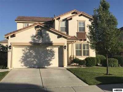 Washoe County Single Family Home Back On Market: 2439 Capriolate Drive