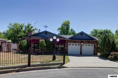 Carson City Single Family Home Active/Pending-Call: 241 Annapolis Ave