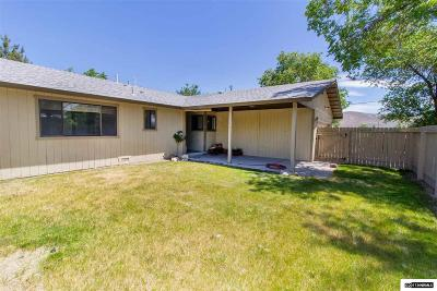 Carson City Single Family Home Active/Pending-Loan: 620 E Appion Way