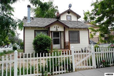 Reno Single Family Home Active/Pending-Loan: 424 Crampton