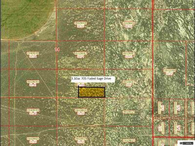 Battle Mountain Residential Lots & Land Active/Pending-House: 705 Faded Sage Drive