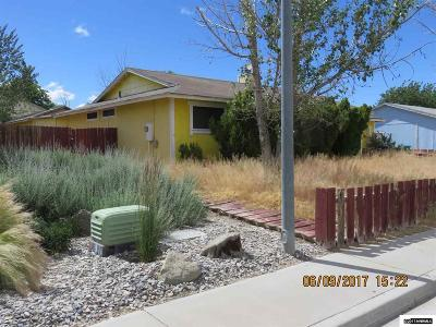 Fernley Single Family Home Active/Pending-Short Sale: 194 6th Street