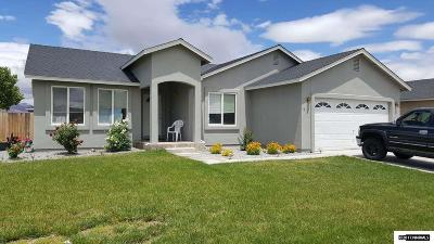 Fernley Single Family Home Active/Pending-Loan: 1014 Pepper Lane