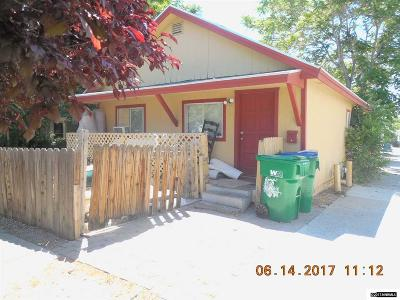 Reno Single Family Home For Sale: 118 Thoma Street