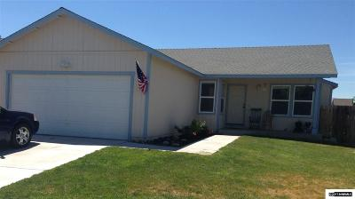 Fernley Single Family Home Active/Pending-Loan: 110 Relief Springs Rd
