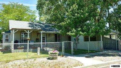 Battle Mountain Single Family Home For Sale: 45 W 2nd Street