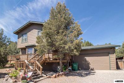 Storey County Single Family Home For Sale: 21585 Dortort Dr.