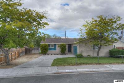 Washoe County Single Family Home Back On Market: 3470 Rauscher Dr